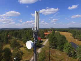 Telia 4G mast